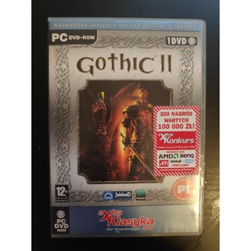 Gothic 2 extra klasyka zadbany PC