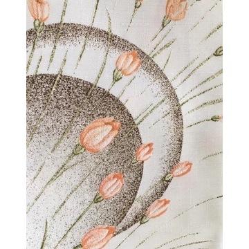 Obrus teflonowany ecru kremowy 110x155