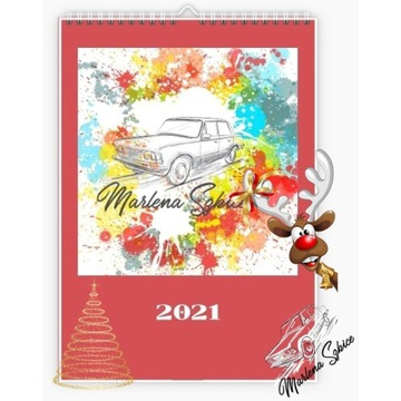Kalendarz 2021 PRL MarlenaSzkice