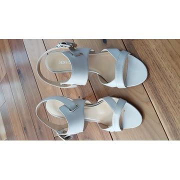 Sandały skórzane markowe