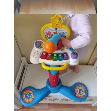 Muzyczne centrum zabaw stojących siedzących
