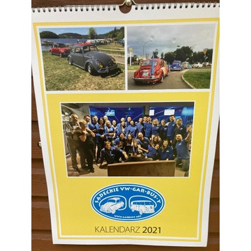 Kalendarz ścienny 2021VW Garbus Bus