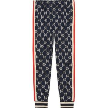Oryginalne spodnie Gucci GG Jacquard Track IT 48 M