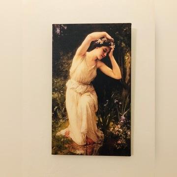 Piękny obraz Charles Lenoir - Nimfa w lesie