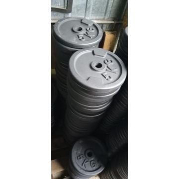 Obciążenie żeliwne Nowe fi 31 4x5kg