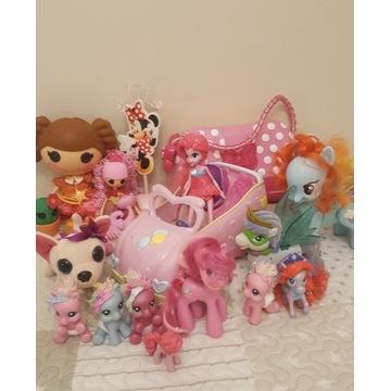 Zestaw zabawek dla dziewczynki