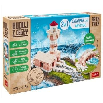 Buduj z cegły Brick Trick 2w1 Latarnia lub Mostek