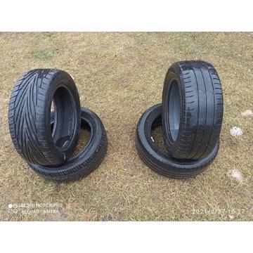 Opony letnie Michelin + Uniroyal Rain sport 2