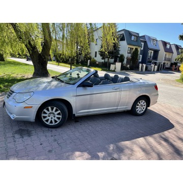 Chrysler Sebring, Kabriolet. Benzyna, 2008 r. Benz
