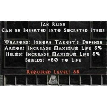 20 x Runa JAH/BER - Diablo 2 LOD NOWY LADDER