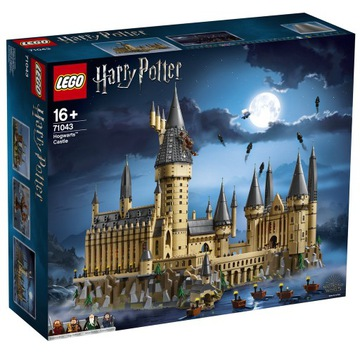 LEGO HARRY POTTER ZAMEK HOGWART 71043 NIEOTWIERANY