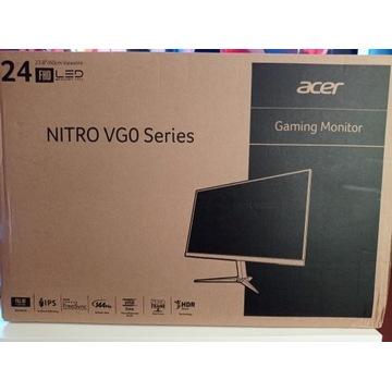 "Nowy Acer Nitro VG240YP 24"" FHD IPS 1ms 144Hz"