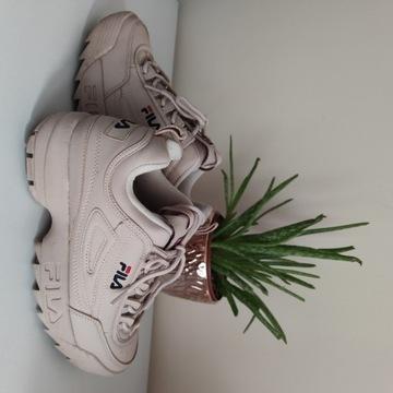 Sneakersy Fila disruptor low WMN 1010302 71P