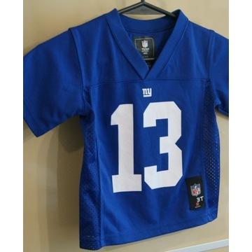 Koszulka NY Giants Oryginał 3 lata Beckham Jr