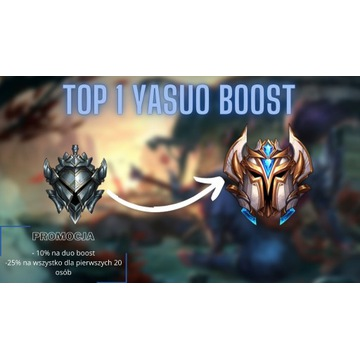 LOL BOOST -  TOP 1 YASUO LOL BOOSTING