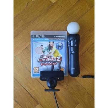 PlayStation 3 move + kamerka + gra BCM