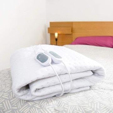 Koc elektryczny podgrzewana mata na łóżko