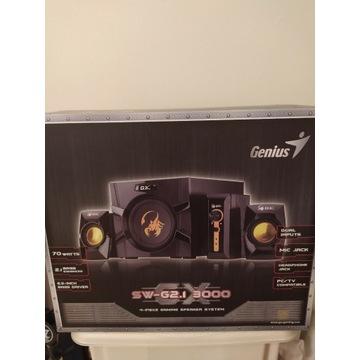 Genius głośniki SW-G2.1 3000, 2.1, 70W, czarne