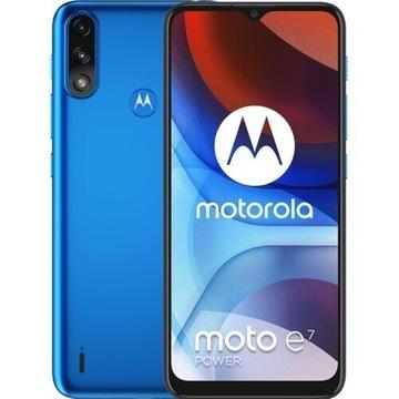 "Smartfon MOTOROLA E7 Power 4/64GB 6.5"" Niebieski"
