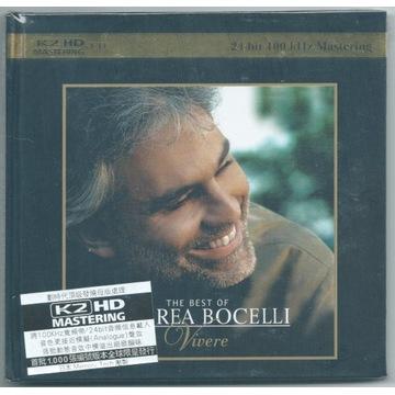 ANDREA BOCELLI - Vivere - K2HD - NOWA FOLIA