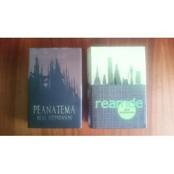 Neal Stephenson PEANATEMA + REAMDE kultowe wydanie