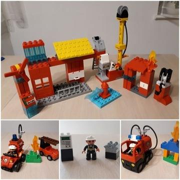 Wyprzedaż LEGO DUPLO remiza straż wozy strażak