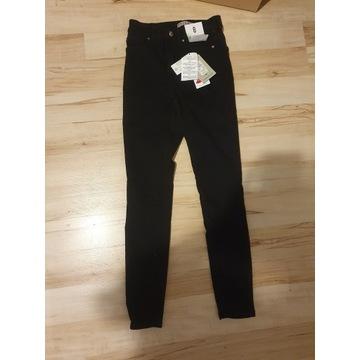 Spodnie rurki czarne rozmiar 36 (8 UK)Primark NOWE