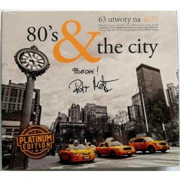 80's & The City 4CD Platinum Edition 2014r Nowa