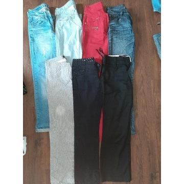 Mega paka ciuchów xs s 34 36 sukienki spodnie bluz