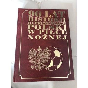 """Książka """"90 lat historii reprezentacji Polski"""""""