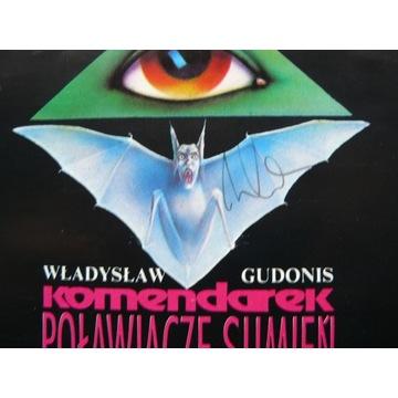 KOMENDAREK Poławiacze sumień 1993 sign Mistrza