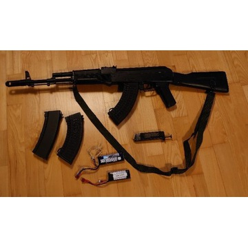 Replika AK74 Tactical cyma0.28 po tuningu