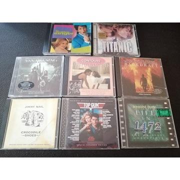 8 x CD MUZYKA FILMOWA SOUNDTRACK TOP GUN TITANIC