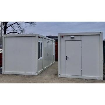 Kontener kontenery biurowe budowlane