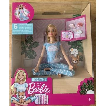 Barbie lalka medytacja z dźwiękami breath with me
