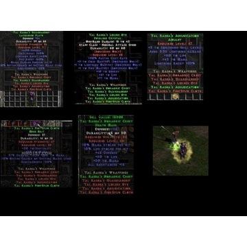 Zestaw Tal Rasha - Diablo 2 LOD NOWY LADDER