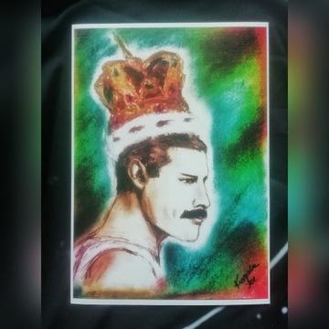 Freddie Mercury Queen Print plakat dekoracja
