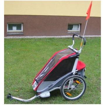 wózek rowerowy thule chariot cougar 1