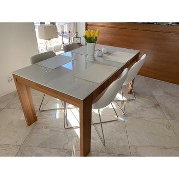 Krzesła Noti 10 szt+ stół HUELSTA wartość 25.000zł