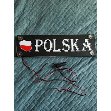 Tablica led imienna smd 12v polska