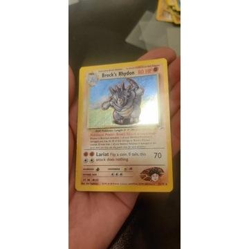 Karta Pokemon Halo Brock's Rhydon