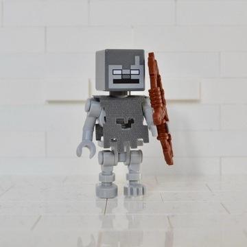 Figurka szkieleta ze świata Lego Minecraft