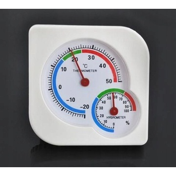Analogowy termometr HIGROMETR miernik wilgotności