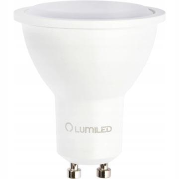 Żarówka LED GU10 8W=70W LUMILED 3000K 120D