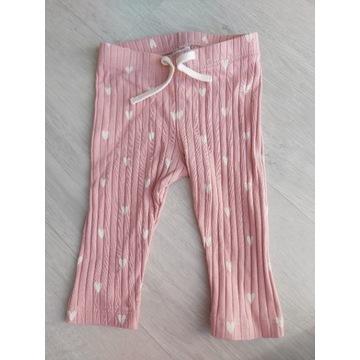 Legginsy spodnie 68 h&m