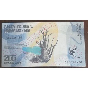 Madagaskar 200 Ariary 2017 UNC SERIA C
