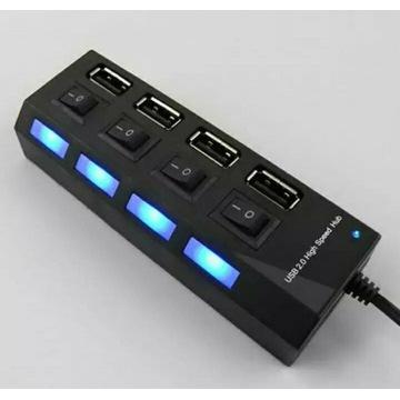Rozdzielacz z portami USB 2.0
