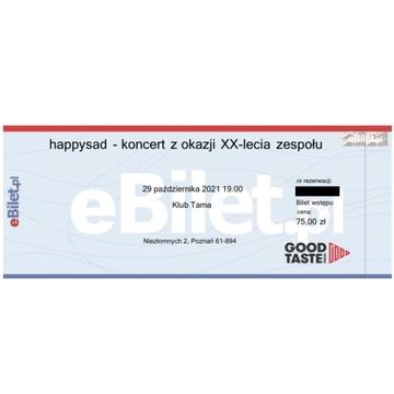 Happysad - 2 Bilety - Koncert 20-lecie - Poznań