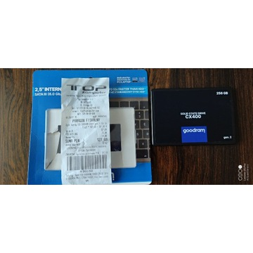 Dysk SSD GoodRam CX400 256GB SATA III S.M.A.R.T