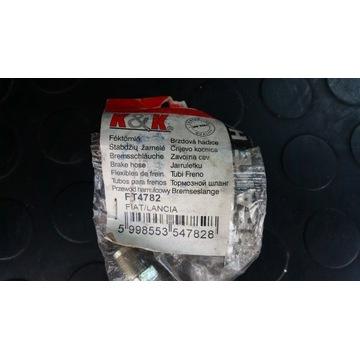 Przewód hamulcowy elastyczny Fiat/Lancia